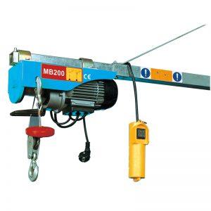 MB200 Mini Elektriskais pacēlājs, Elektriskās sviras pacēlājs