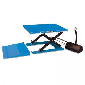 HY1001 zema profila elektriskā pacēlāja galds